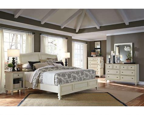 Aspen Bedroom Set by Aspenhome Bedroom W Sleigh Bed Cottonwood Asi67 400 4set