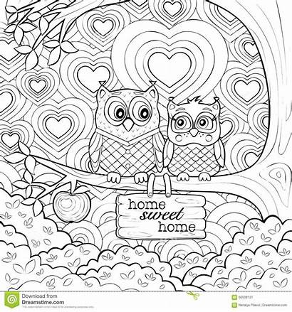 Coloring Therapy Pages Mandala Animal Simple