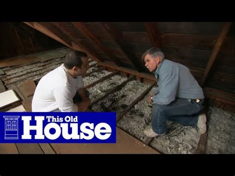 beef  attic insulation   house youtube