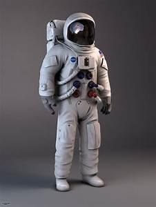 NASA Astronaut Apollo 11 3d model - CGStudio