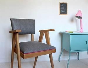 Tapisser Une Chaise : diy retapisser une chaise diy retapisser une chaise mobilier de salon et chaise ~ Melissatoandfro.com Idées de Décoration