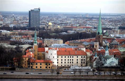 Izteiksmīgi kadri, kā Rīga izskatās no putna lidojuma ...