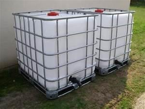 Bac Récupérateur D Eau De Pluie : r cup rateur d 39 eau de pluie 1000l ~ Premium-room.com Idées de Décoration