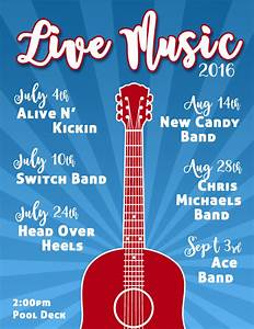 2016 Live Music Calendar | To The Point