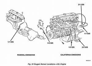 Jeep Liberty 3 7 O2 Sensor Location  Jeep  Free Engine Image For User Manual Download
