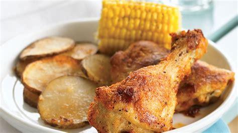 how does it take to bake chicken leg quarters oven baked chicken recipe bettycrocker com