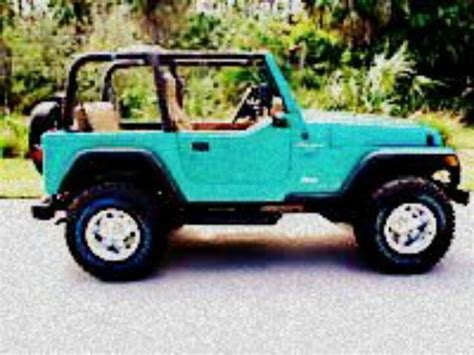 Teal Jeep Wrangled I 39 M In Love Cars Pinterest