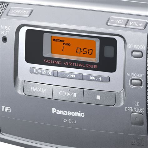 cd cassette recorder panasonic rx d50 portable cd radio cassette recorder