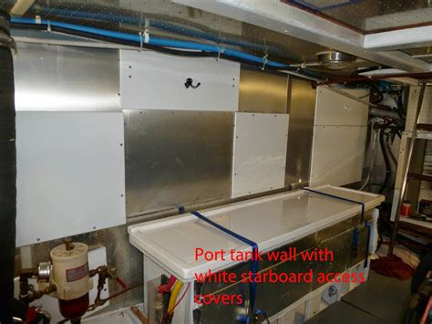 Boat Fuel Tank Inspection Port by Rick Deb And Izzy Aboard M V Broulee And Other
