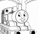 Train Thomas Coloring Tank Pages Drawing Caboose Sherman Track Friends Engine Tracks Printable Getcolorings Getdrawings Everfreecoloring sketch template