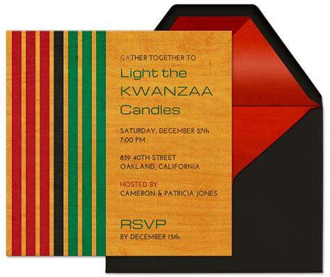kwanzaa party guide evite