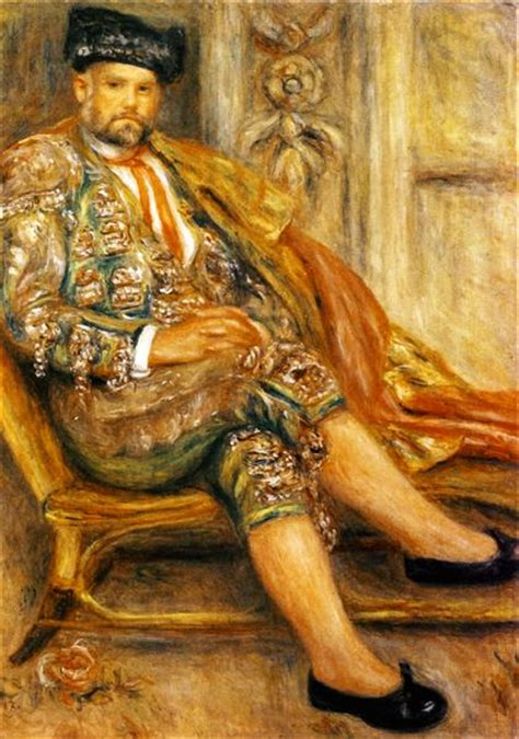 Ambroise Vollard Portrait 1917 Pierre Auguste Renoir