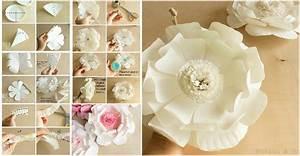 DIY Easy to Make Paper Plate Flower UsefulDIY com