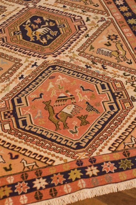 tapis kilim turquie soie occasion fabrication artisanale 224 la couleurs naturelles