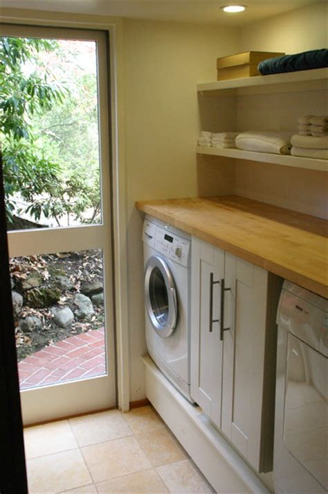 golden oaks remodel contemporary laundry room san