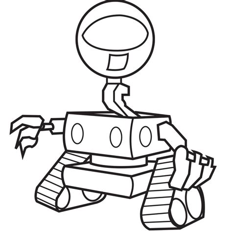 future robots coloring pages  robot craft ideas