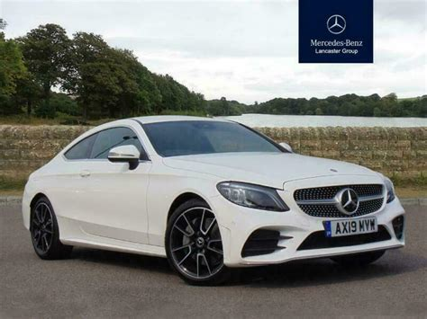 The mercedes c class coupe 2019 will be obtainable starting this spring, although we don't have concrete pricing information just but. 2019 Mercedes-Benz C Class C300 AMG Line Premium 2dr 9G-Tronic Petrol white Auto   in Ipswich ...