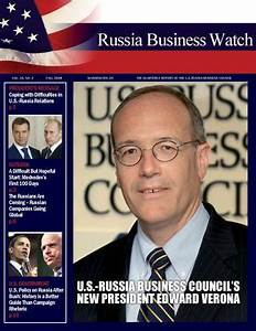 RBW: Fall 2008 by U.S.-Russia Business Council - Issuu