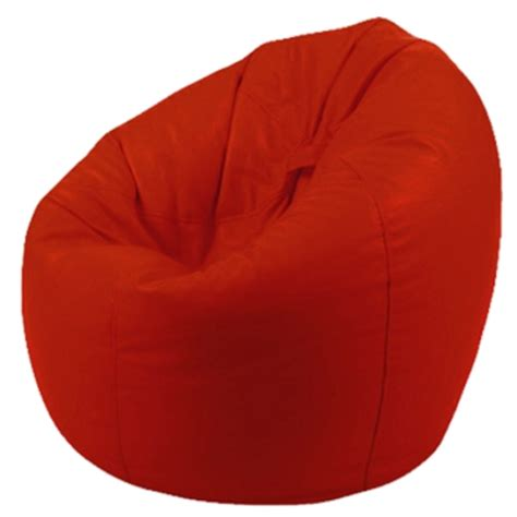deluxe bean bag large faux leather