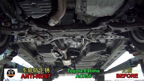 Anti-rust Underseal Car Underbody (toyota Estima Acr