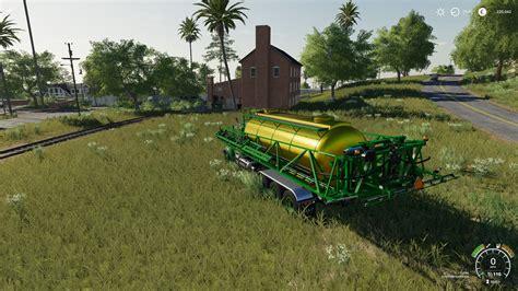 john deere  hooklift sprayer   fs farming simulator   mod ls mod