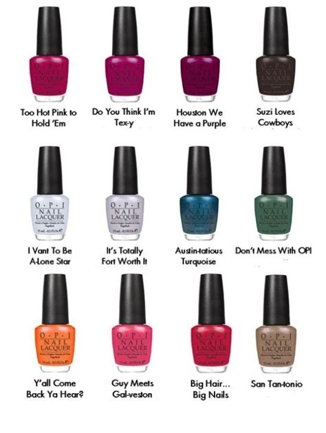 opi color names opi 2011 nail collection