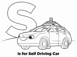 s is for self driving car r is for robots coloring book With wiringpi beaglebone