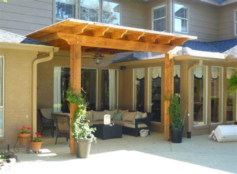 covered pergolas donaldson pergola traditional patio houston by overall exteriors