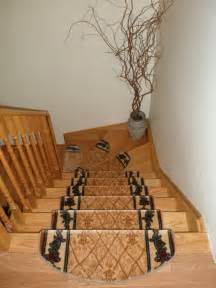 Grey Carpet Stair Treads by Decorations Decorative Carpet Stair Runner Ideas Design