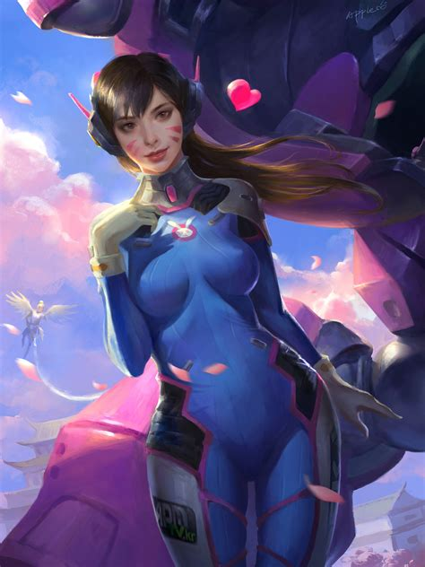 Overwatch, Dva (overwatch) Wallpapers Hd  Desktop And