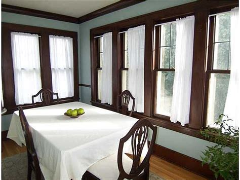 blue walls with brown trim home ideas interior paint