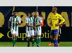 Betis vs Cádiz en directo online Copa del Rey 2017 en