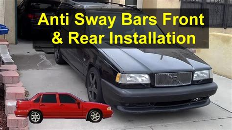 anti sway bar replacement front  rear volvo
