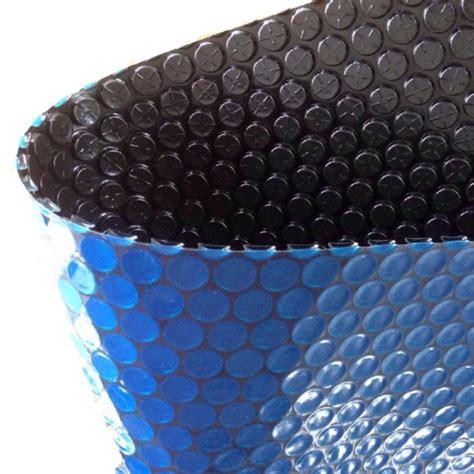 blue black kasabubble technology swimming pool cover