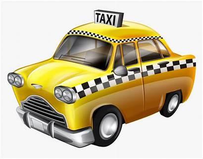 Taxi Transparent York Cab Clip Clipart Yandex