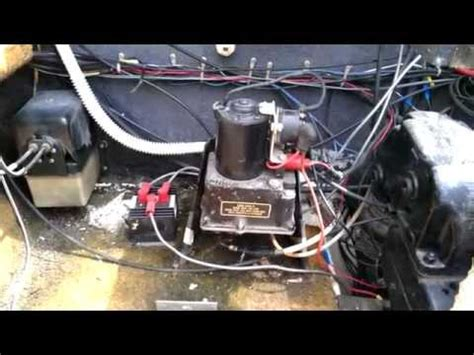 installing  hydraulic trim hoses  volvo penta sx