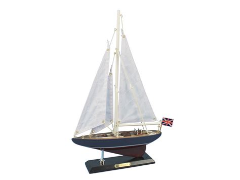 buy wooden endeavour model sailboat decoration 16 inch