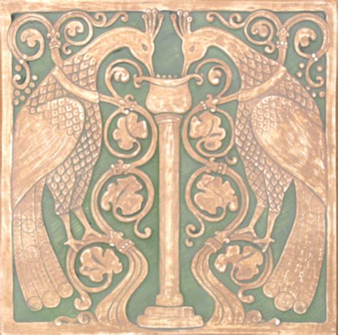 arts and crafts reproduction tile