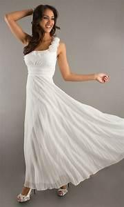 flowy and simple second wedding dress dream wedding With simple flowy wedding dress
