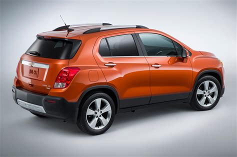 List Of Crossover Suvs by 2015 Chevrolet Trax Rear Side View From Above Photo 41
