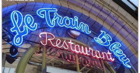 la cuisine de no駑ie le bleu le magnifique restaurant de la gare de lyon