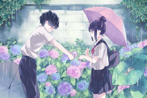 cute anime couple desktop wallpapers pixelstalknet