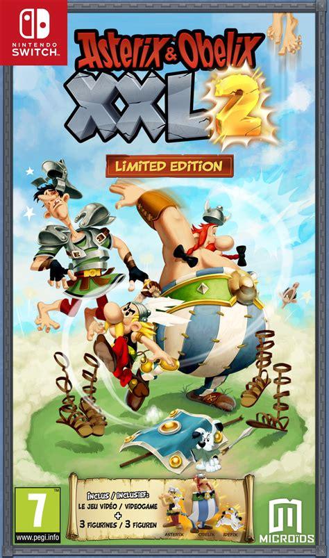 asterix obelix xxl  sur nintendo switch jeuxvideocom