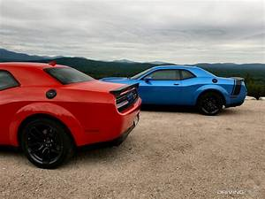 Track Tested: 2019 Dodge Challenger SRT Hellcat Redeye vs