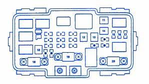 Honda Cr Block Circuit Breaker Diagram