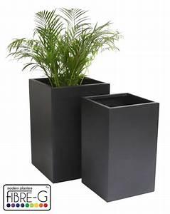 Cache Pot Noir : cache pot cubique noir petit 109 99 ~ Teatrodelosmanantiales.com Idées de Décoration