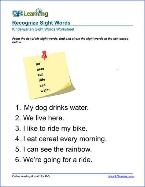 free preschool kindergarten vocabulary worksheets printable k5 learning