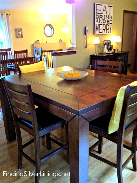 bar height kitchen table counter height kitchen table finding silver linings