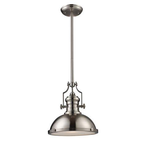 titan lighting chadwick 1 light satin nickel ceiling mount