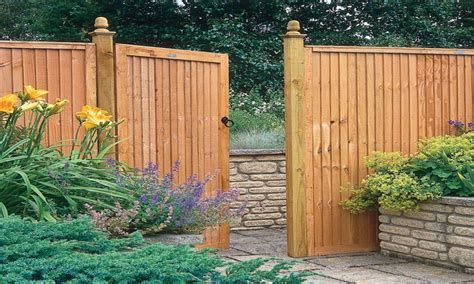 decorative garden fence panels wooden garden fences and